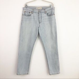 GAP Boyfriend Button Fly Distressed Jeans 31